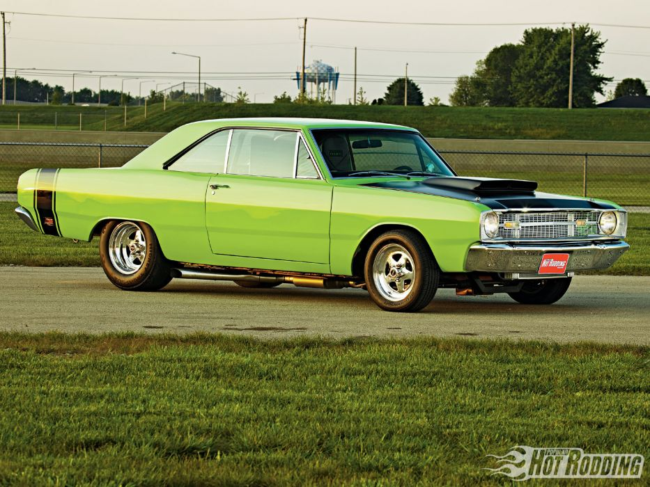 1969 Dodge Dart Gt hot rod muscle cars     f wallpaper