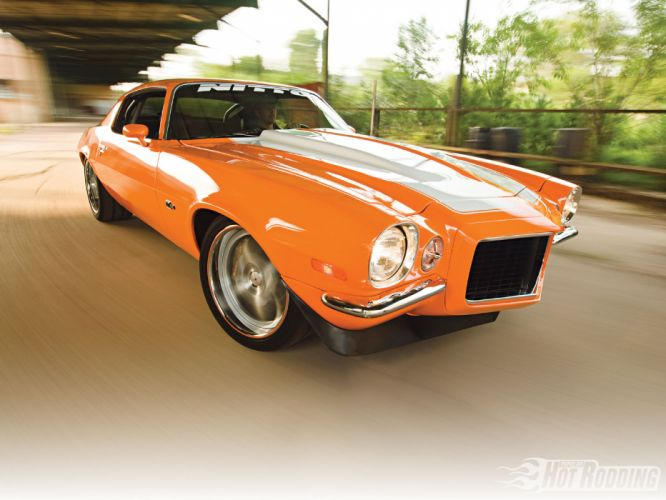 1970 Chevy Camaro hot rod muscle cars wallpaper