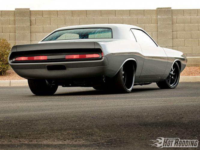 1970 Dodge Challenger hot rod muscle cars d wallpaper