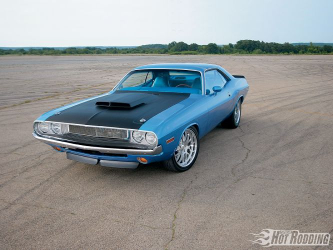 1970 Dodge Challenger hot rod muscle cars f wallpaper