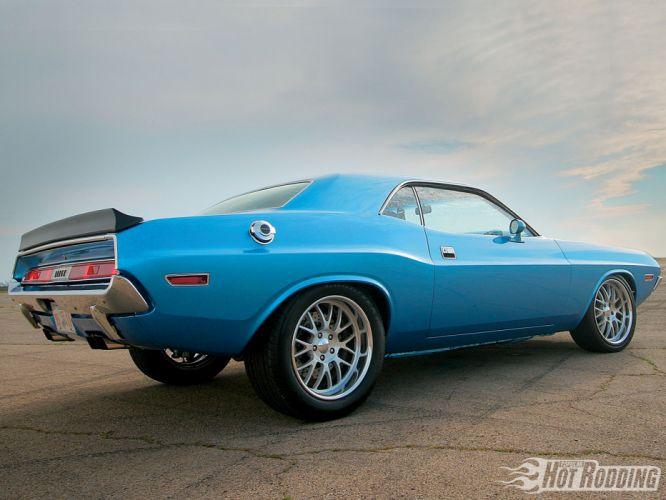 1970 Dodge Challenger hot rod muscle cars b wallpaper