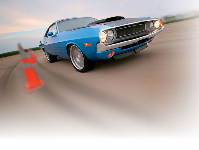 1970 Dodge Challenger hot rod muscle cars z wallpaper