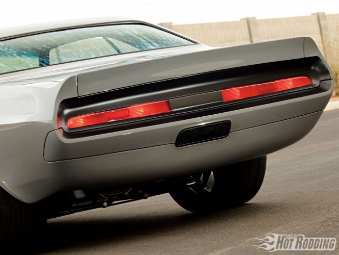 1970 Dodge Challenger hot rod muscle cars tailights wallpaper