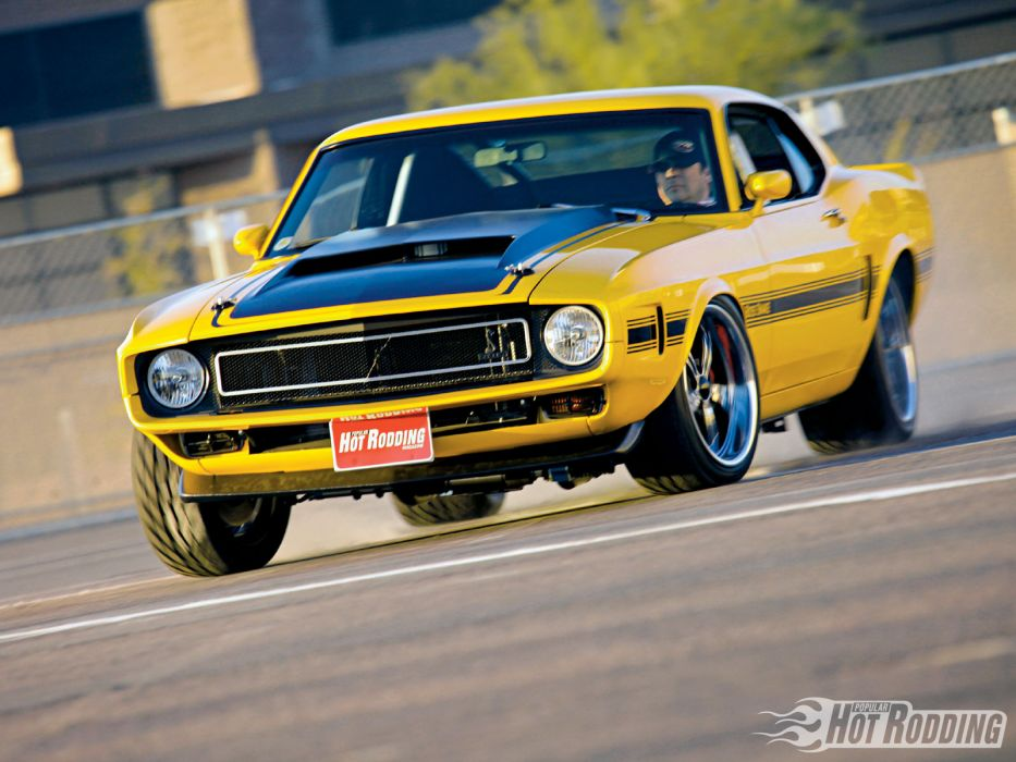 1970 Ford Mustang hot rod muscle cars     f wallpaper