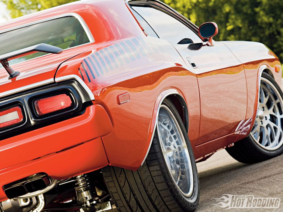 1973 Dodge Challenger hot rod muscle cars     f wallpaper
