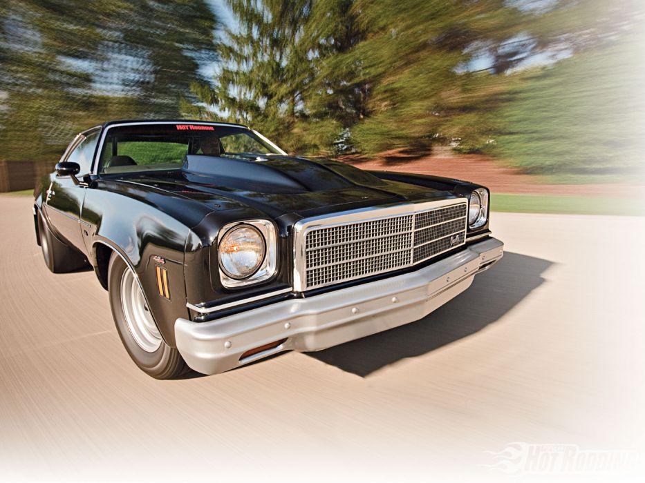 1974 Chevrolet Chevelle hot rod muscle cars     g wallpaper