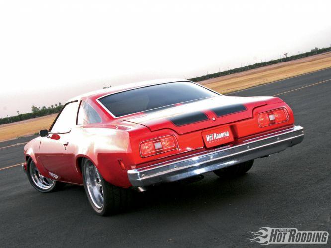 1974 Chevrolet Chevelle Malibu hot rod muscle cars f wallpaper