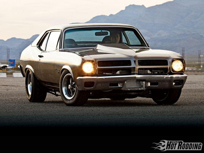 1971 Pontiac Ventura hot rod muscle cars wallpaper