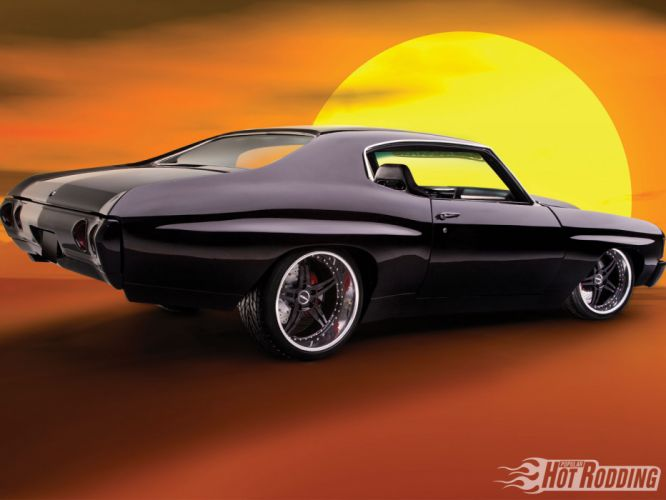 1972 Chevy Chevelle muscle cars hot rod f wallpaper