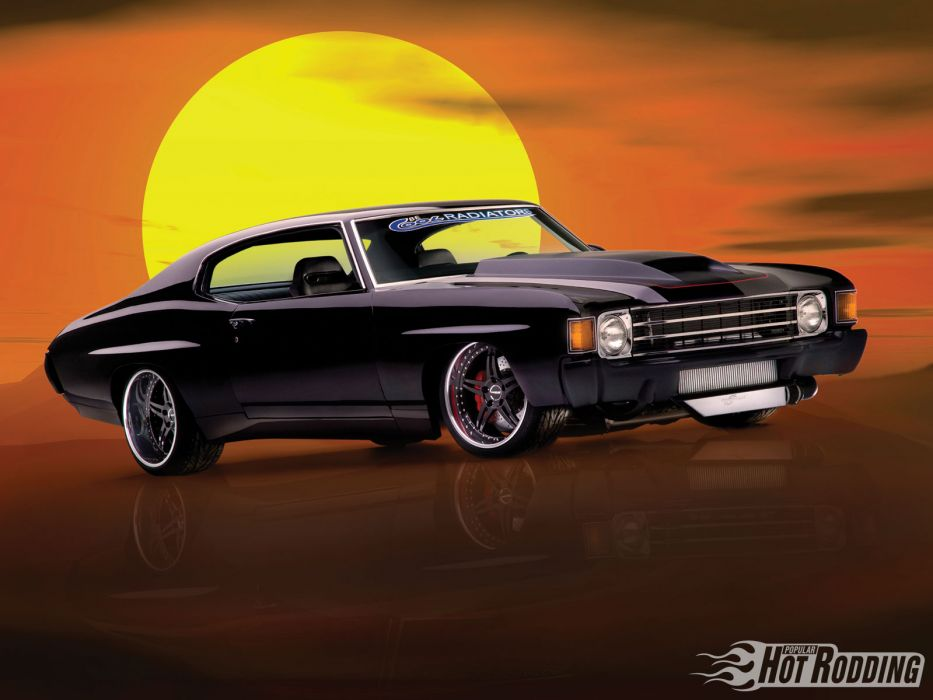 1972 Chevy Chevelle muscle cars hot rod wallpaper