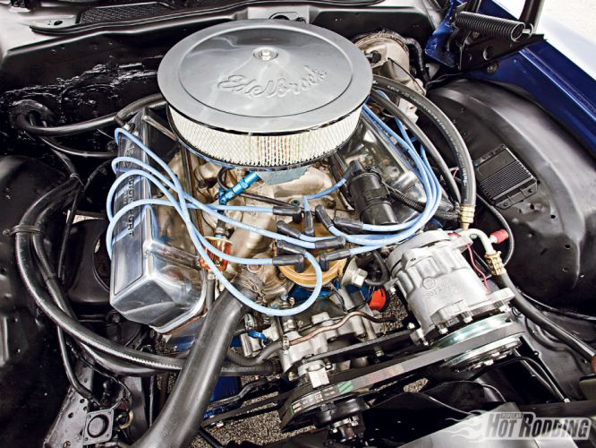 1972 Ford Torino hot rod muscle cars engine wallpaper