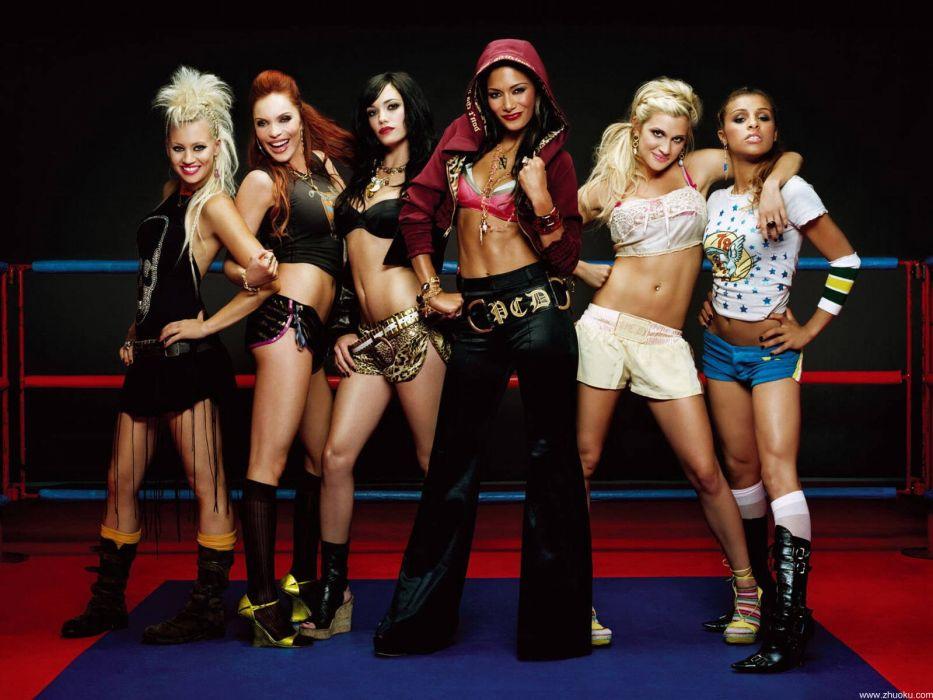 Pussycat Dolls groups bands women females girls musician       e wallpaper