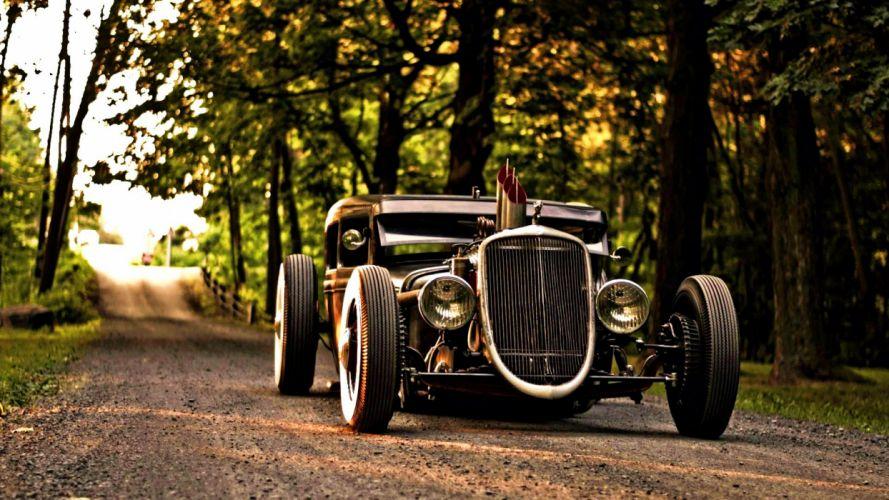 Classic Sport Car wallpaper