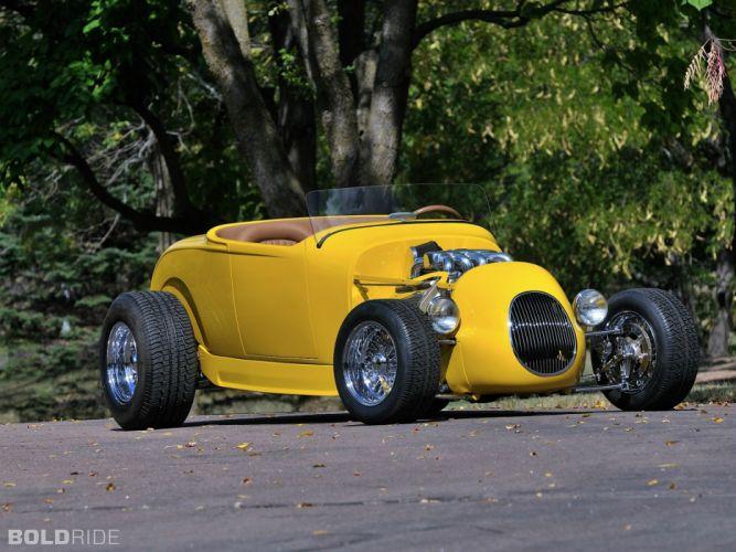 1929 Unique Designs Infiniti Q29 Flyer Roadster retro hot rod custom f wallpaper