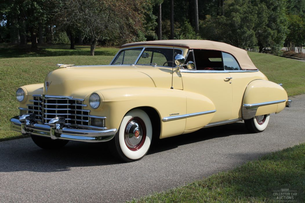 1946 CADILLAC SERIES 62 retro classic cars wallpaper