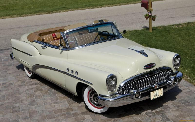 1953 Buick Super classic cars wallpaper