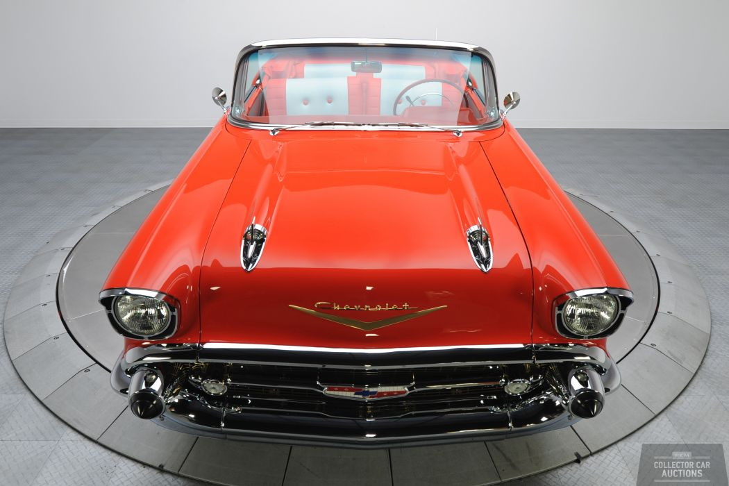 1957 Chevrolet BEL AIR CONVERTIBLE 283 classic cars      y wallpaper