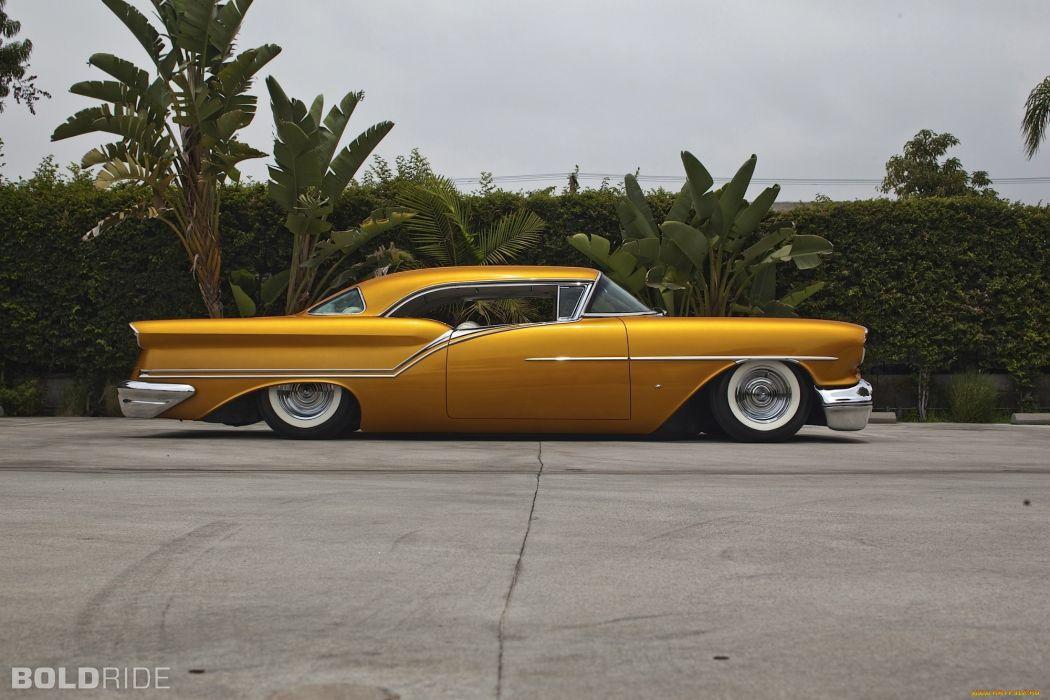 1957 Oldsmobile Custom lowrider classic cars wallpaper