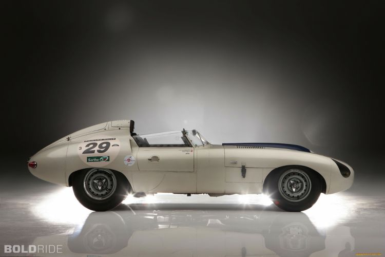 1960 Jaguar E-Type Prototype E2A racing race cars classic wallpaper