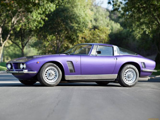 1969 Iso Grifo classic cars wallpaper