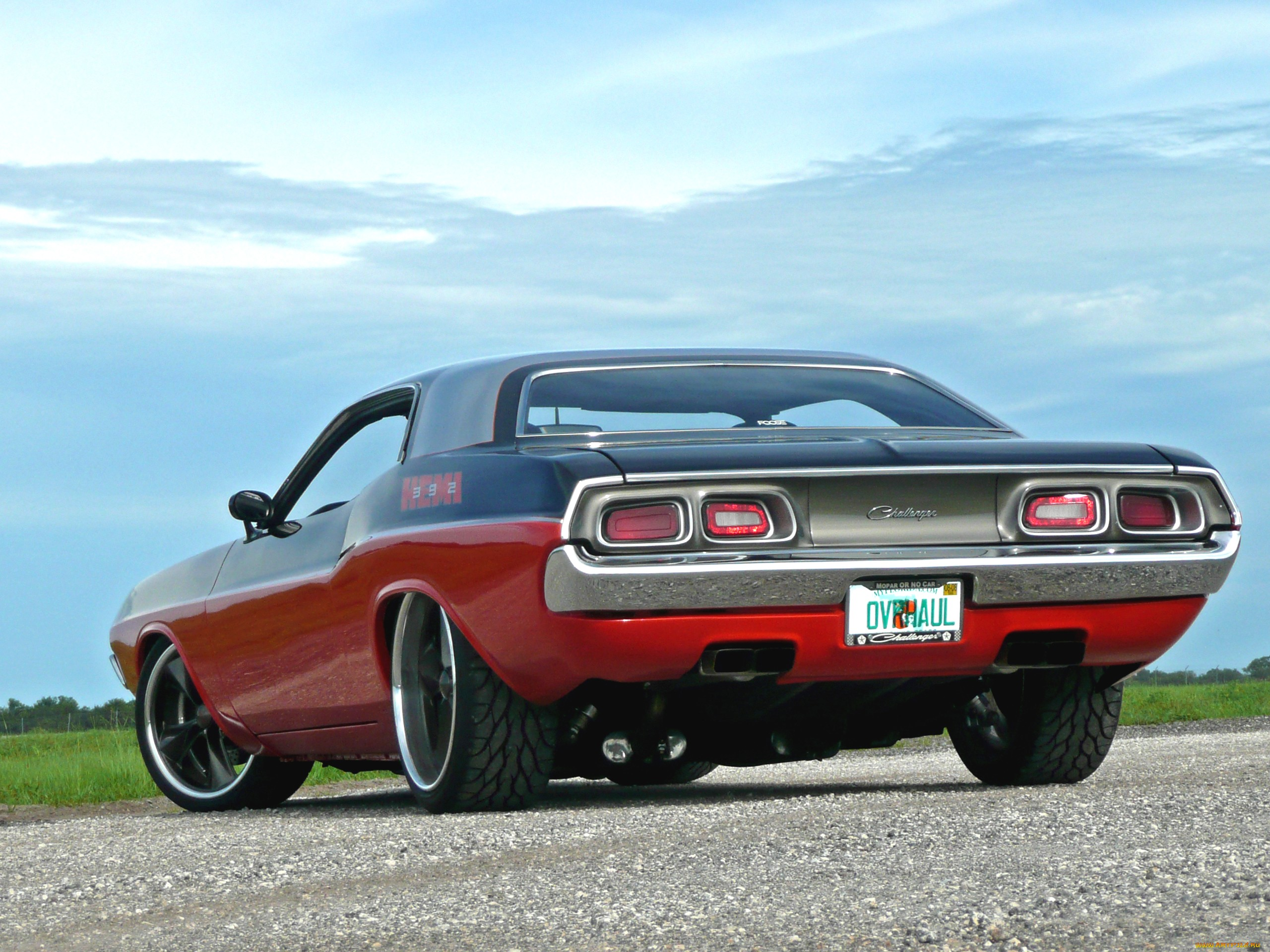1972 Dodge Challenger Muscle Cars Hot Rod Wallpaper