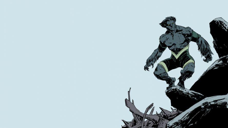 Beast X-Men Marvel wallpaper