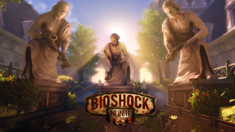 Bioshock Bioshock Infinite Statue wallpaper