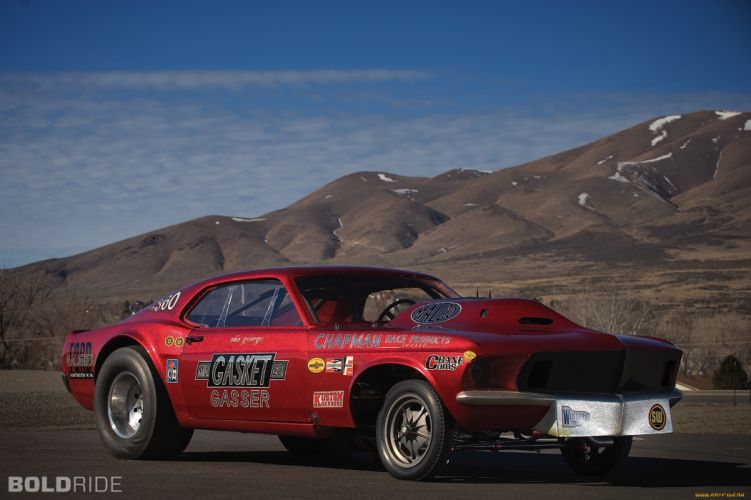 ford mustang-MR-GASKET Gasser drag racing muscle cars hot rod race wallpaper