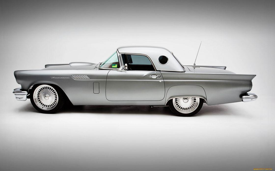 Ford Thunderbird Classic Custom Wallpaper