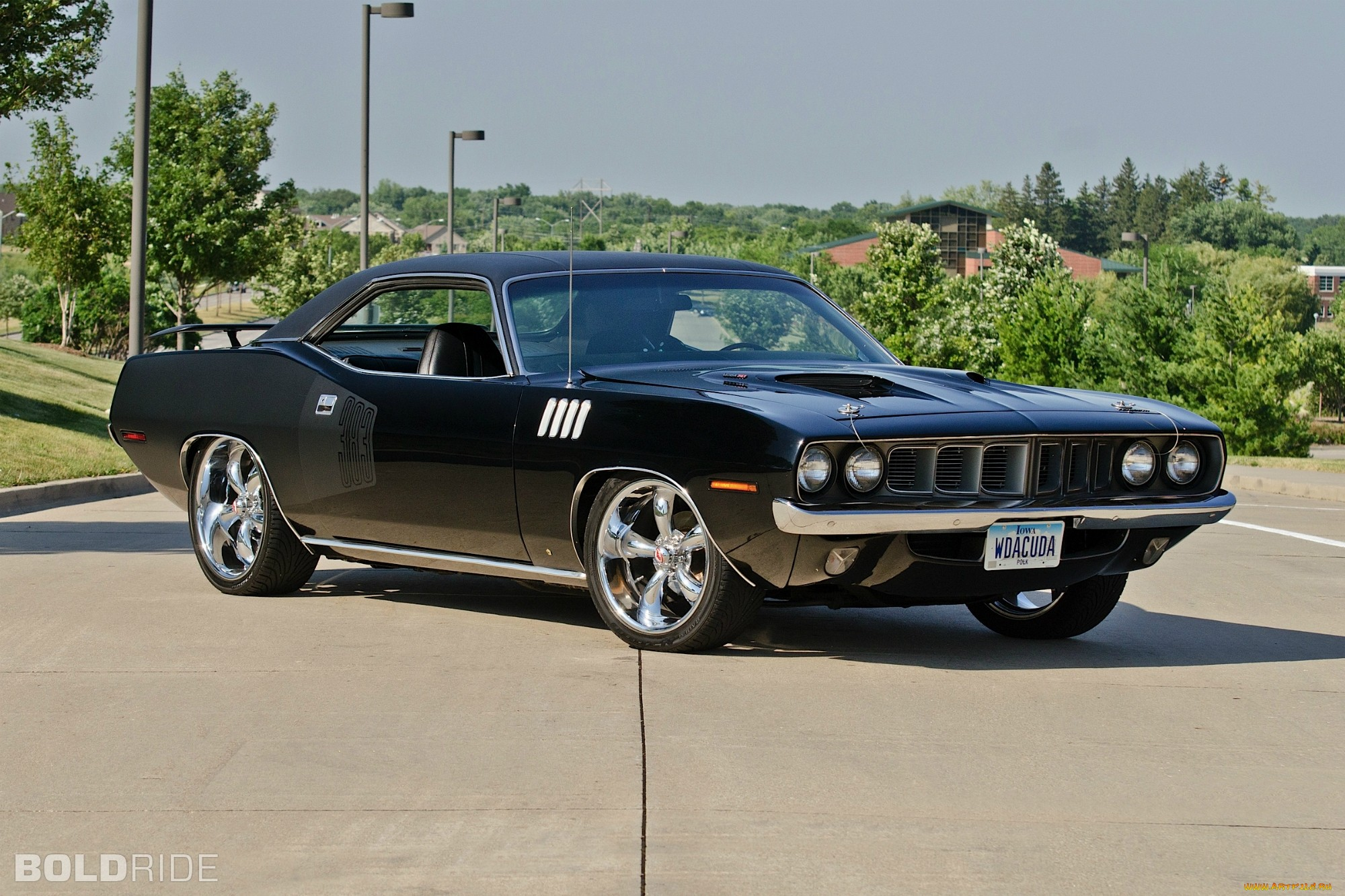 Plymouth Barracuda Muscle Cars Hot Rod Wallpaper