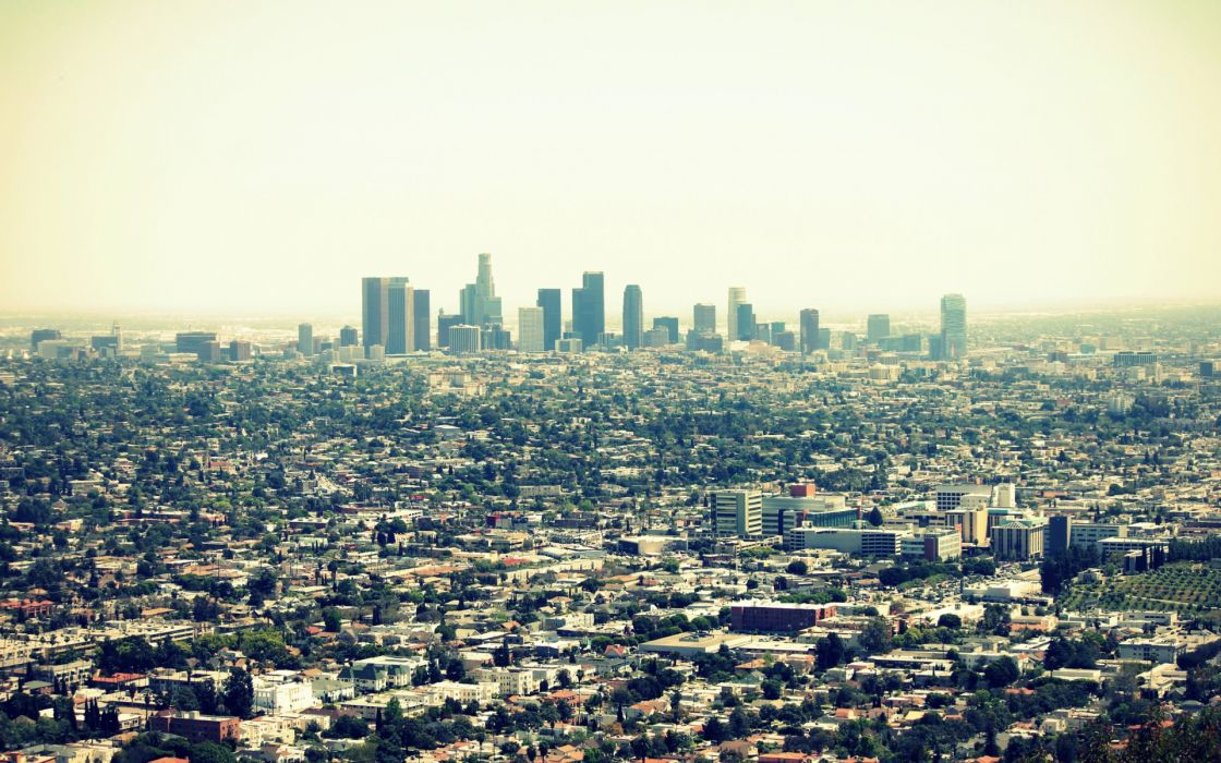 USA California Los Angeles cities buildings skyscraper wallpaper