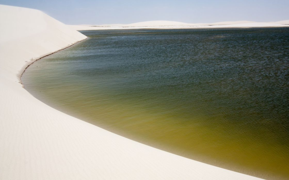 landscapes beaches sand dunes wallpaper