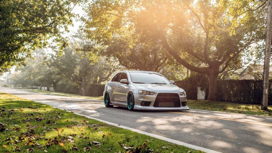 Mitsubishi Evolution Evo Sunlight tuning wallpaper
