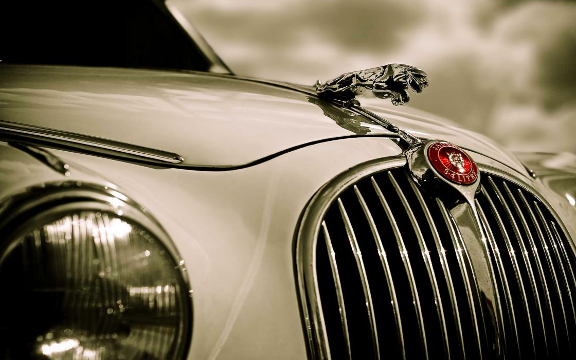 Jaguar Vintage Car wallpaper