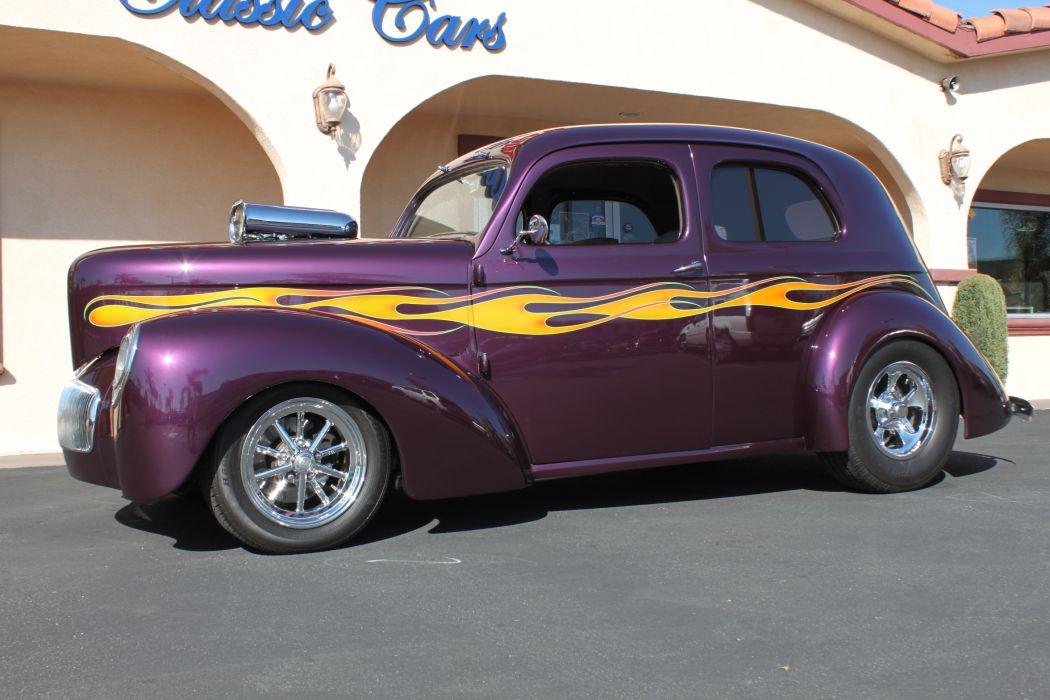 1937 Willys Custom retro classic cars hot rod custom     w_JPG wallpaper