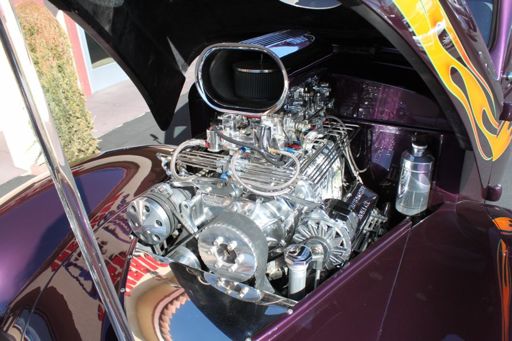 1937 Willys Custom retro classic cars hot rod custom engine_JPG wallpaper