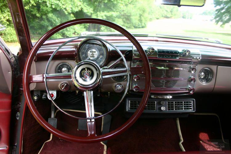 1952 BUICK ESTATE WAGON 263CI STRAIGHT-8 retro classic cars interior dash wallpaper