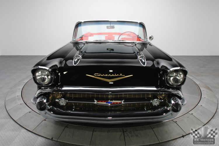 1957 CHEVROLET BEL AIR CONVERTIBLE 283 DUAL QUAD classic cars y wallpaper