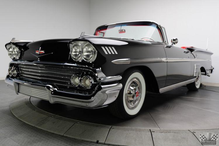 1958 Chevrolet Impala Convertible 348 Tri Power Classic