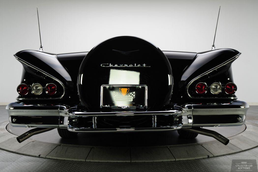 1958 CHEVROLET IMPALA CONVERTIBLE 348 TRI-POWER classic cars        x wallpaper