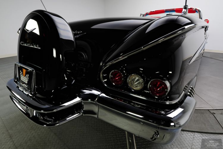 1958 CHEVROLET IMPALA CONVERTIBLE 348 TRI-POWER classic cars v wallpaper