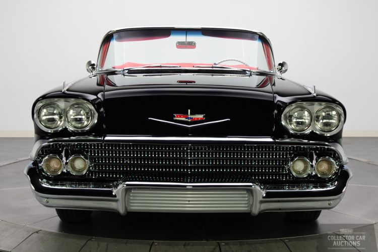 1958 CHEVROLET IMPALA CONVERTIBLE 348 TRI-POWER classic cars y wallpaper