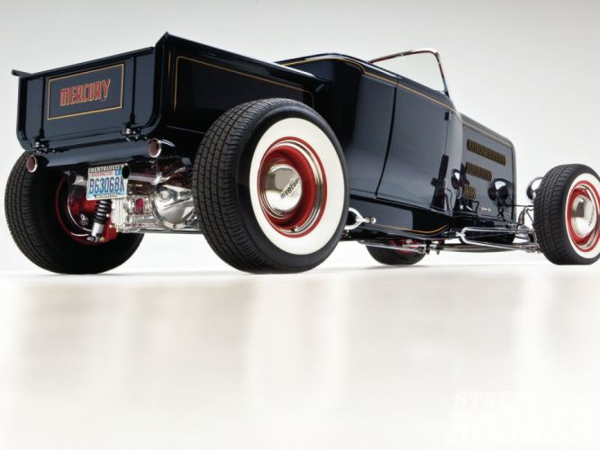 Mercury Ford Roadster Pickup retro classic cars hot rod wallpaper
