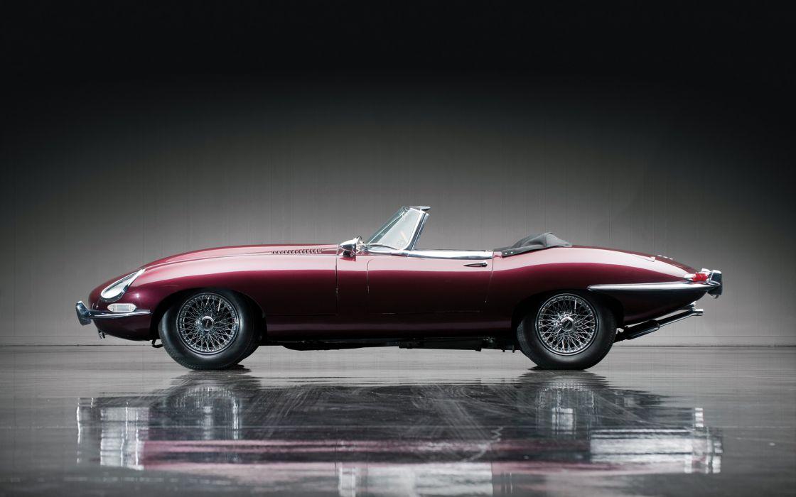 1967 Jaguar E-Type Roadster classic cars    q wallpaper