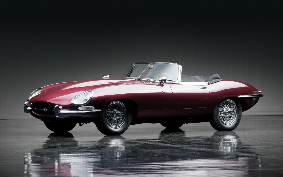 1967 Jaguar E-Type Roadster classic cars wallpaper