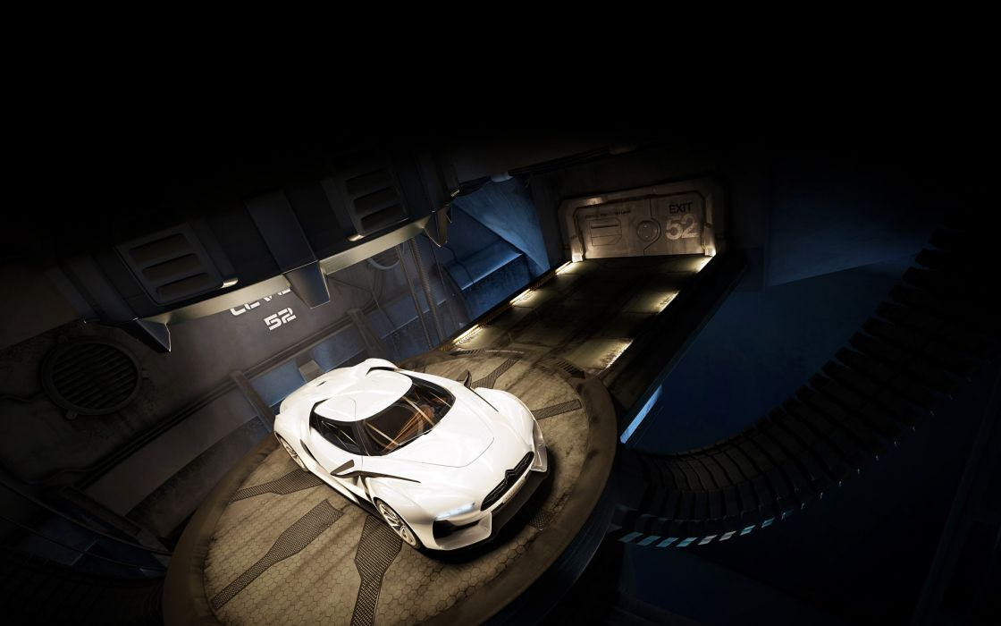 2008 Citroen GT Concept    w wallpaper