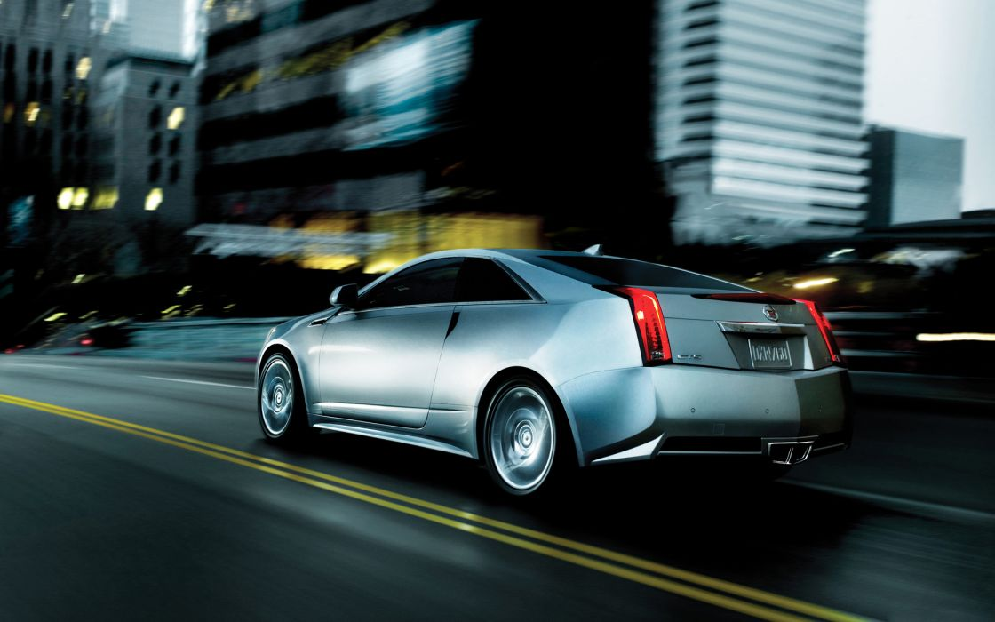 2011 Cadillac CTS Coupe    w wallpaper