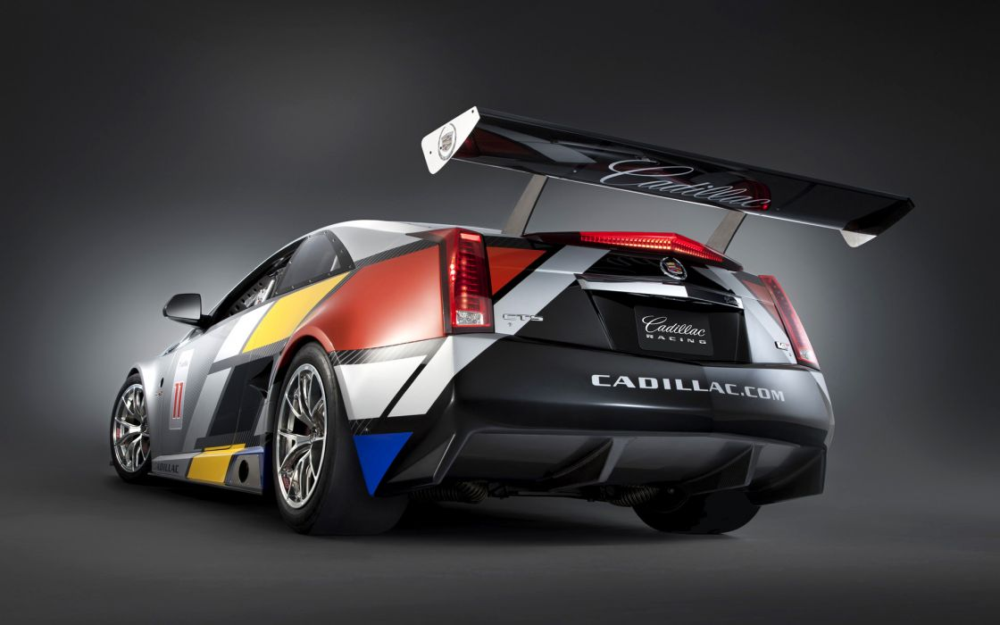 2011 Cadillac CTS-V Coupe Racecar race cars     w wallpaper