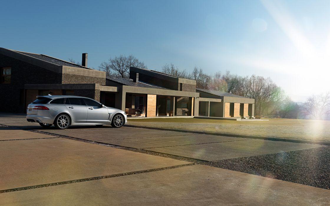 2013 Jaguar XF Sportbrake wallpaper