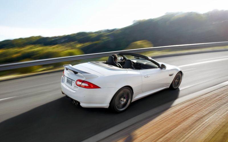 2013 Jaguar XKR-S Convertible q wallpaper